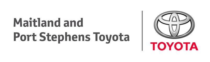 Maitland & Port Stephens Toyota Logo
