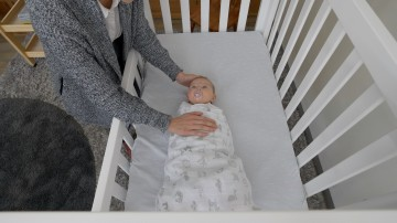 elearning temperature baby in cot