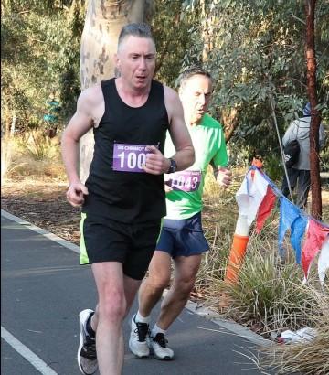 Brendan Tohill Melbourne Marathon
