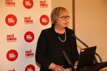 Leanne Raven Speaking at Red Nose Launch October 2016