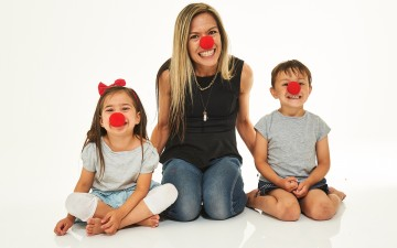Online Fundraising Image For Red Nose Day Section