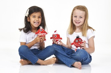 Red Nose Day Kids With Toys