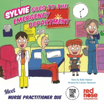 Sylvie Goes to the Emergency Department Book Cover