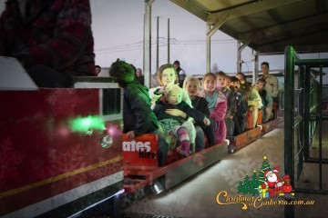 christmas in the city act 2018 train image promo