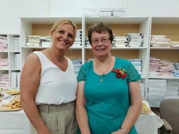Cindy Furby and Keren Ludski