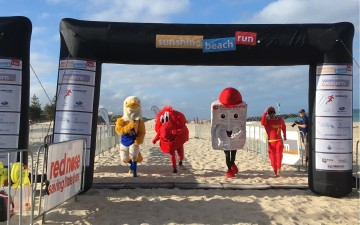 Mascot Race Sunshine Beach Run 2018