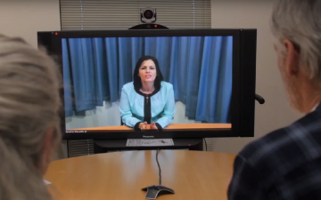 Telehealth Video Screengrab for News Story