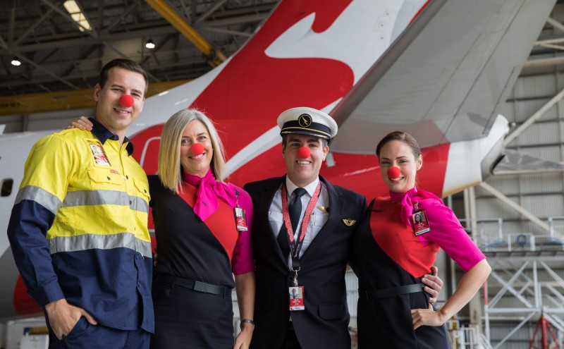 QANTAS Red Nose Day 2018