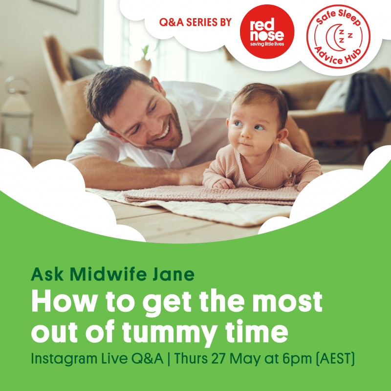 Insta Live Q&A: Getting the most out of tummy time
