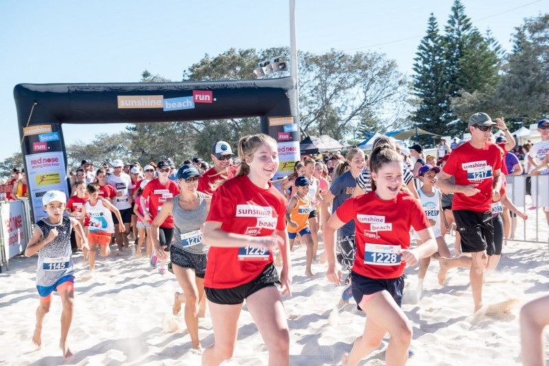 Sunshine Beach Run 2017 Runners