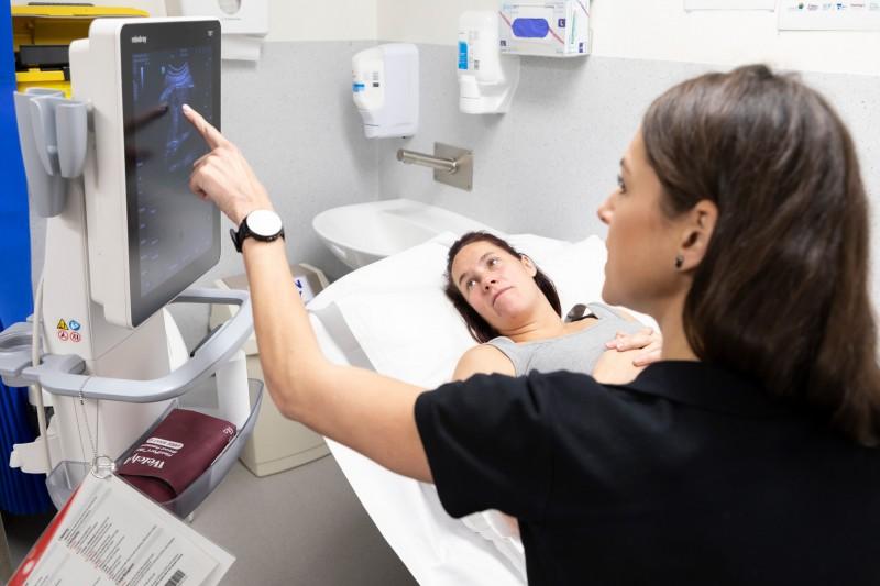 Jane Wiggill ultrasound