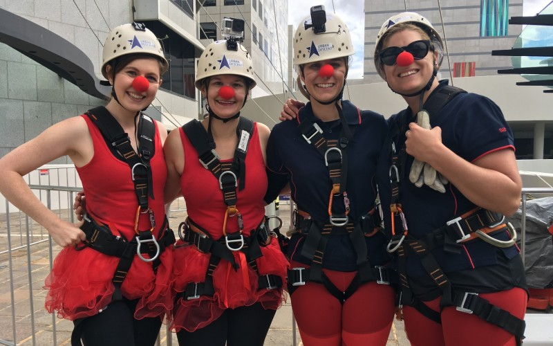 QV1 Abseil April 2018 News Image